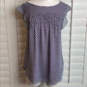 Loft by Ann Taylor size M loose short sleeve top